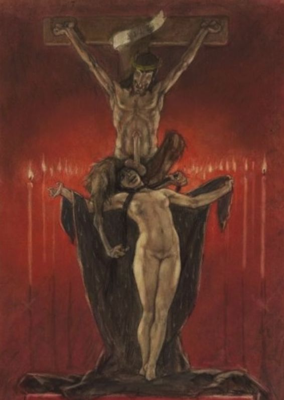 Ritual orgies satanic