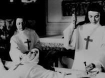 Nuns crucify another Nun