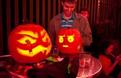 Polish Pumpkin Carving Satanists