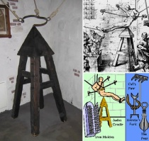The Judas Cradle Torture Equipment
