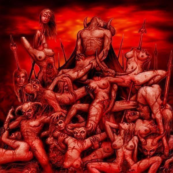черти дерут телок в аду жёсткое