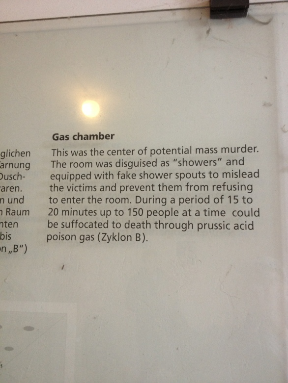 Dachau Gas Chamber - Germany