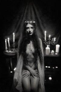 Nude Satanic Bride