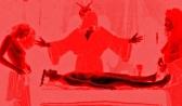 nude women and satanic altar
