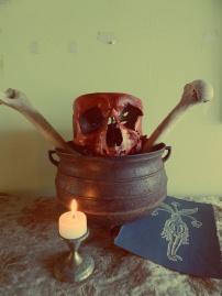 Hoodoo Skull