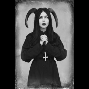 Possessed Woman and Satanic Prayer to Satan