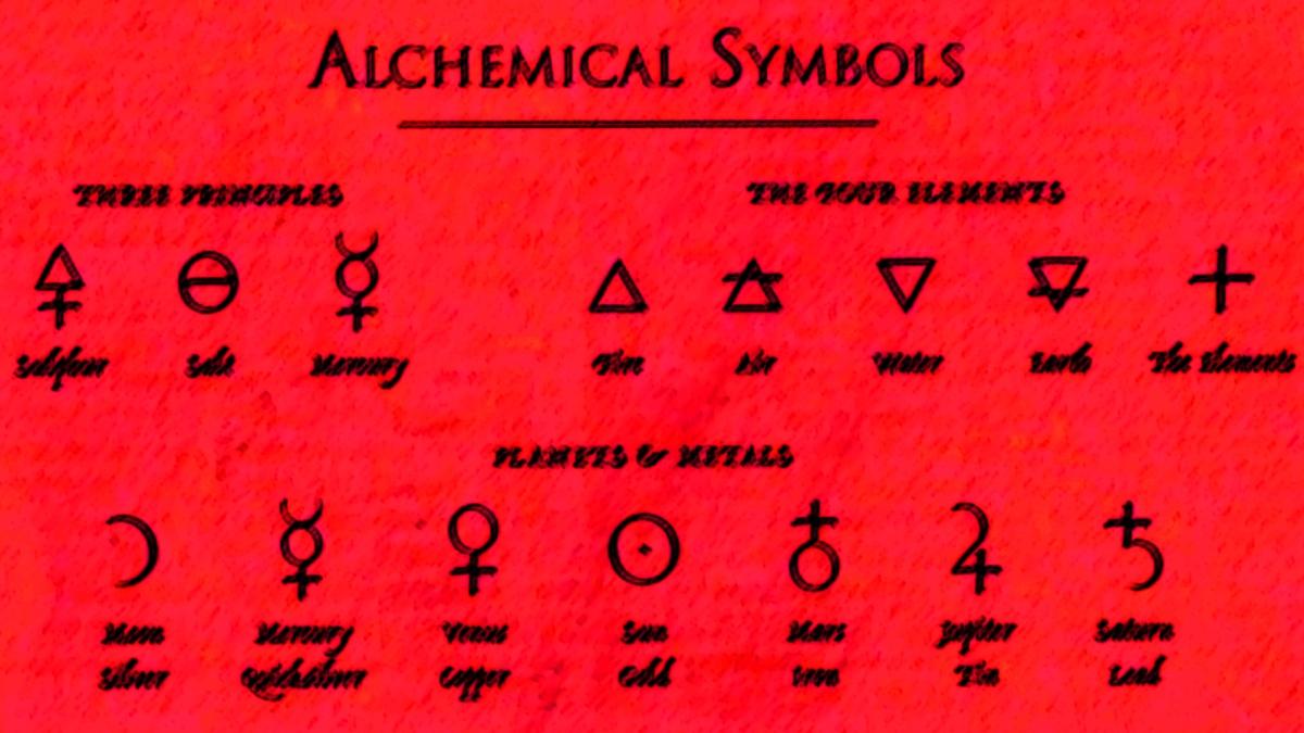 Alchemy Alchemical Symbols