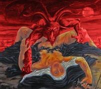Satan rapes a nun