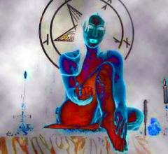 Nude Woman Magnum Opus Satanic Altar