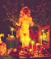 Witch Ritual Nude