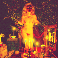 Witch Ritual Nude