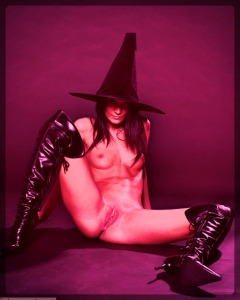 Satanic Witch with hat