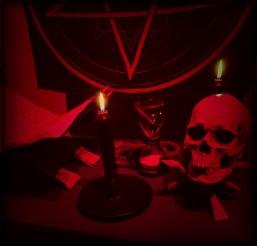satanic altar