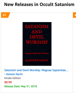 Satanism and Devil Worship Magnae Sapientiae Sathanas is Amazon #1 New Release
