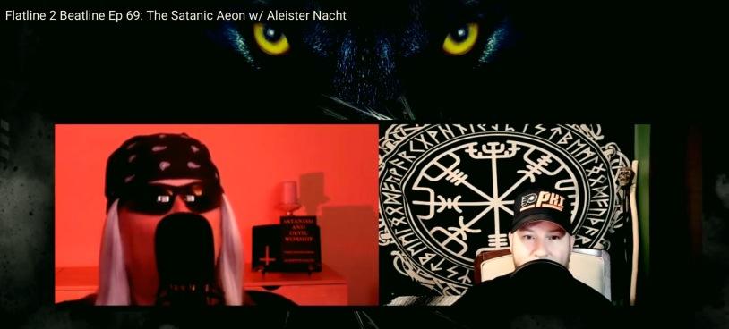 Flatline 2 Beatline Ep 69: The Satanic Aeon w/ Aleister Nacht